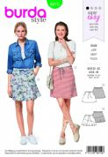 6410 Burda Pattern: Ladies Skirt